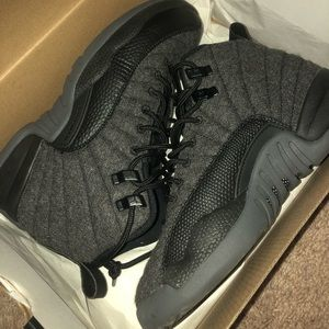 air jordan 12s retro wool